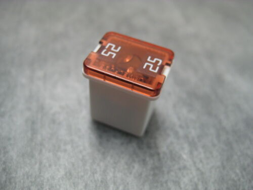 25A White LOW PROFILE 25amp LJCAS Fuse Link Ships Fast!