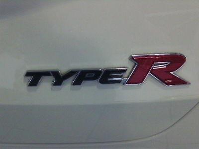 Emblem letras cheers Honda Civic Type R fn2 a partir de 2007 type s fn1-3 fk1-3