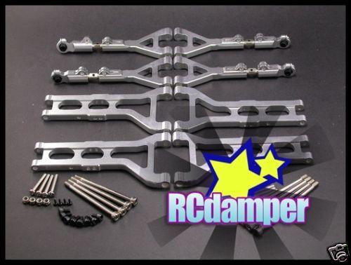 Aluminium - suspension arm b cen - genesis nemesis gst 7,7 unteres