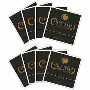Size-4-4-3-4-Cello-Strings-2-Sets-Total-8-String