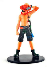 Japanese Anime One Piece Monkey D. Ace PVC Figure Collection Toy Boys Gift 6''