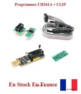 Programmer CH341A USB Bios Eeprom + Clip SOIC8