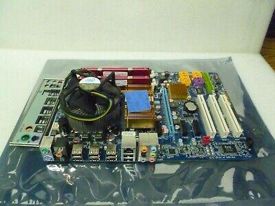 Dell GM819 Optiplex 755 MT Motherboard Intel Core 2 Duo E6550 2.33GHz 2GB RAM