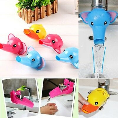 Cute Animals Faucet Extender For Toddler Kids Hand Washing in Bathroom Sink Gift
