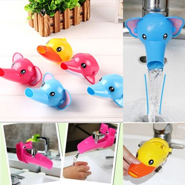 Faucet Extender, Helps kids reach faucets in the bathroom sink,Hand Washing