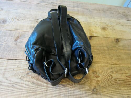 Bnwt Black Leather Cut Cutuli Dustbag Cult Laser Rucksack amp; xFqPazw