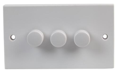 Solo doble triple cuádruple Atenuador Interruptores 1,2 vías Hazlo tú mismo Electrics Iluminación