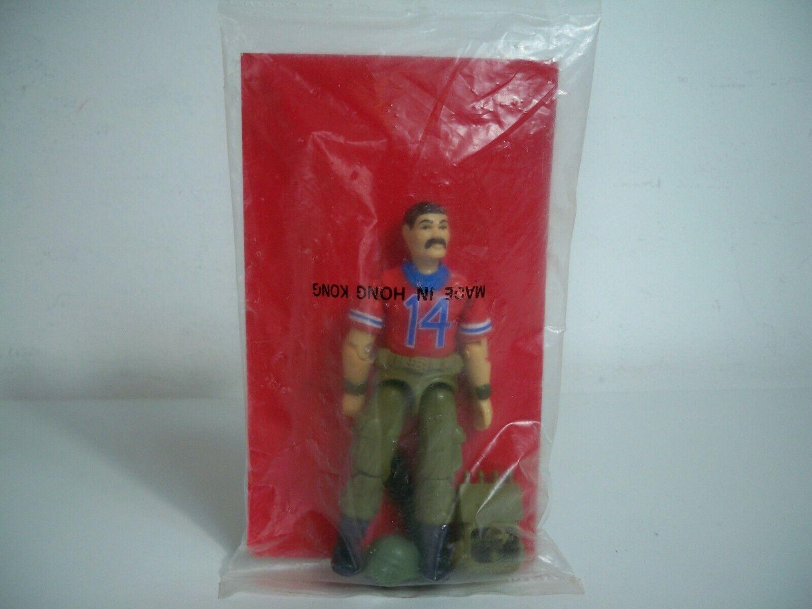 K1984011 BAZOOKA MAILAWAY FACTORY SEALED Tasche rot BACK 1988 GI JOE VINTAGE
