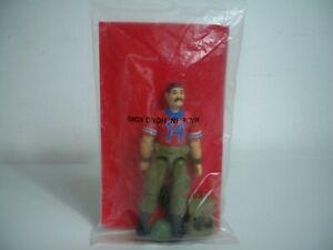 K1984011 Sac scellé Bazawaya Mailaway Factory rouge à l'arrière 1988 Gi Joe Vintage
