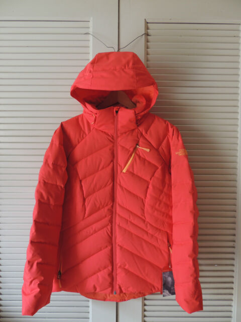 The North Face Womens Heavenly Down Jacket Melon Red M for sale ... 8e838b689