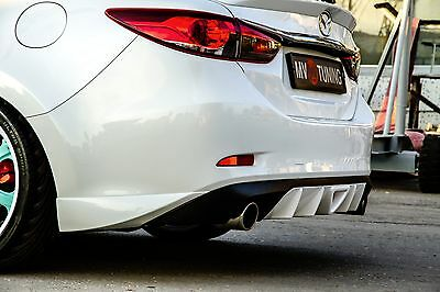 MV-Tuning Rear Fangs(Pads) Lip Bumper for Mazda 6 / Attenza GJ 2012-2017