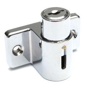 Aluminum Sliding Patio Door Window Bolt Lock Catch Push ...