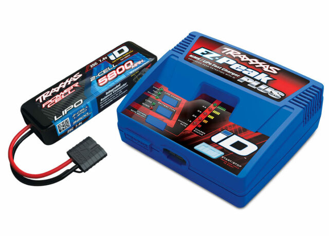 Traxxas EZ-Peak Plus 4-Amp LiPo Single Battery/Charger Completer Pack TRA2992