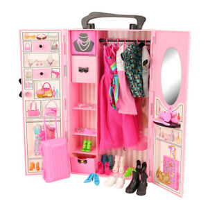 Barwa-for-Barbie-Great-value-for-money-pink-wardrobe-set-for-your-baby