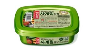 2Pcs-Korean-Soy-Bean-Paste-Red-Pepper-Paste-Ssamjang-170g