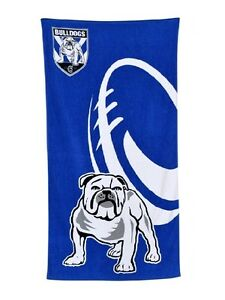 NRL-Canterbury-Bulldogs-Beach-Towel-Bath-Towel
