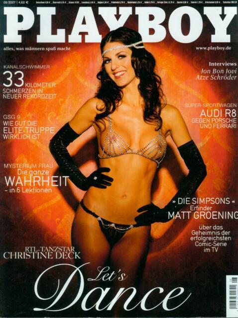 Playboy August 2007 Christine Deck