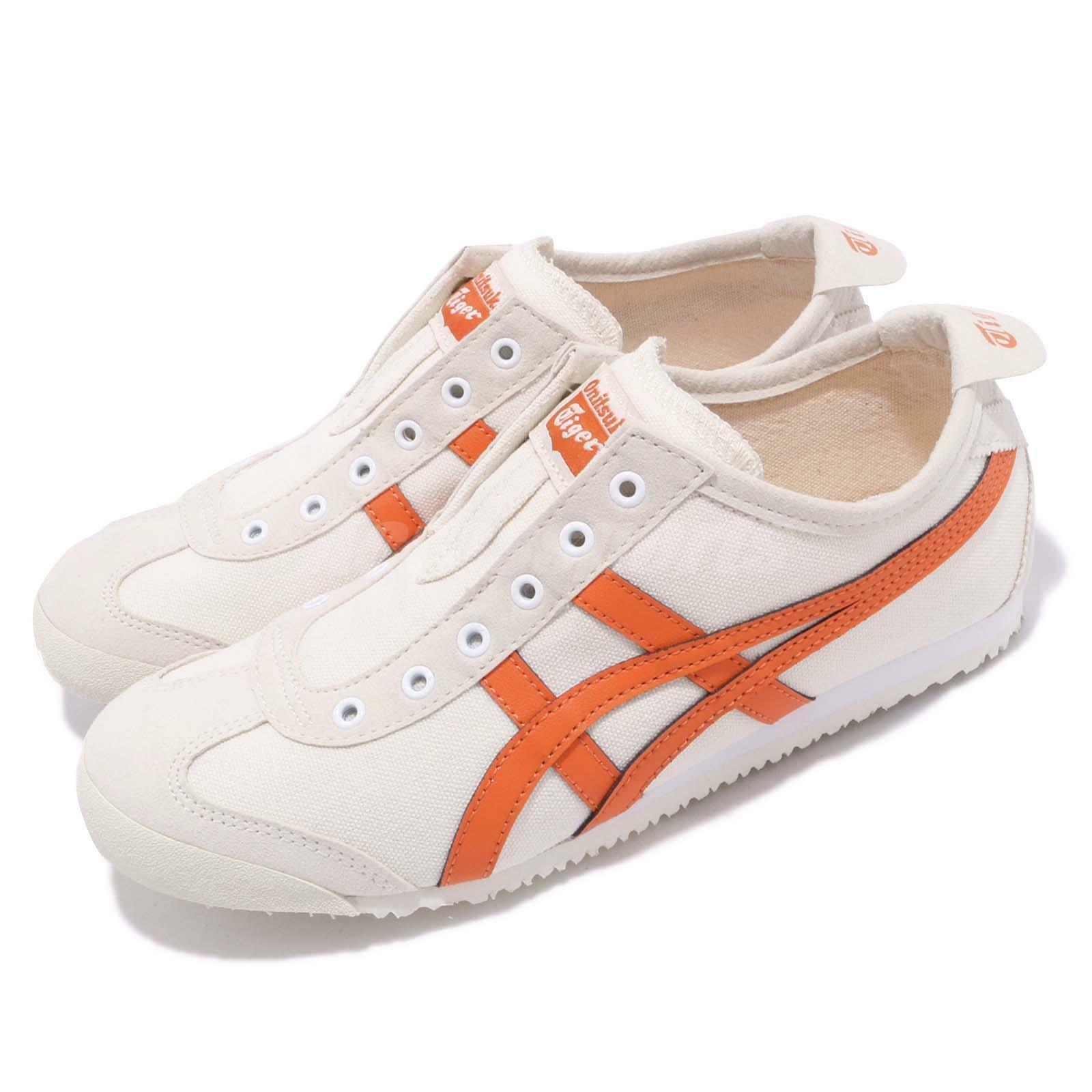 Asics Onithuka Tiger Mexico 66 Slip On Birch orange  Men Women shoes 1183A360-202  enjoy 50% off