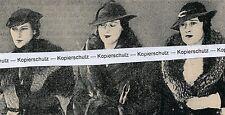 Magical Morgan Girls - Consuelo Gloria Thelma  - um 1935           H 11-5