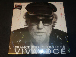 FRANCESCO DE GREGORI-VIVA VOCE-4 LP 2 CD + BOOKLET-ED LIMITATA-SIGILLATO-M9-ZZ