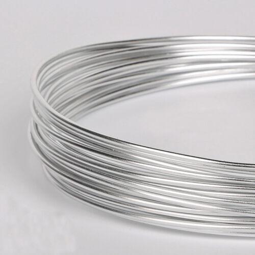 1mm 1.5mm 2mm 2.5mm Aluminium Jewellery Craft Wire 12 COLOUR CHOICE 3M//5M//10M