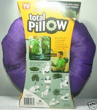Total Comfort Pillow The Amazing Versatile Clever Comfort Neck Cushion Pillow