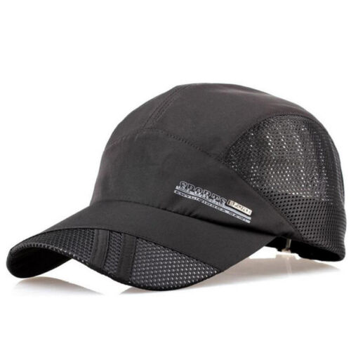 Women Men Breathable Summer Outdoor Sports Baseball Mesh Hat Running Visor Cap