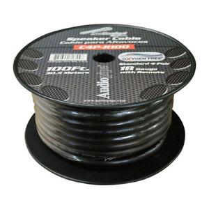NEW SPEED CABLE AUDIOPIPE 100' 9 WIRE; 4PR. SPKRS + REMOTE C4PR100