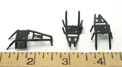 24pc 1988 TYCO Turbo Hopper BLACK ROLL BAR NERF TOP ROOF Slot Car BODY PART ONLY