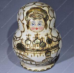 10 Pieces Russe Traditionnel Matryoshka Imbriquées Eglises Pokerwork 10pcs 6ukafzoz-07185428-136336480