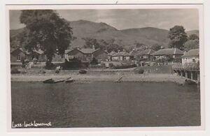Dunbartonshire postcard - Luss, Loch Lomond - (A125)