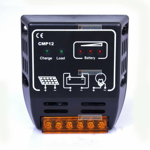 10A 12V/24V Solar Panel Battery Charge Regulator Controller CE Certify 240W DS