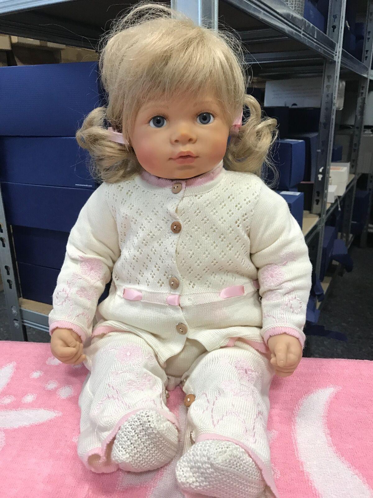 Bettine Klemm Vinyl Puppe 53 cm. Top Zustand