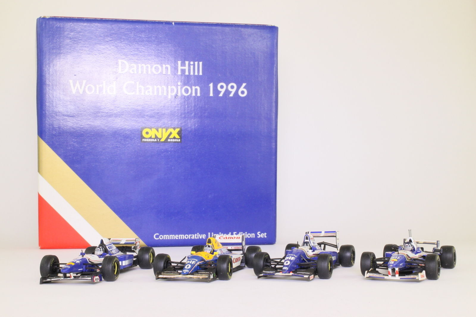 ONYX LE 8 O SCALE Williams Damon Hill World Champion 1996