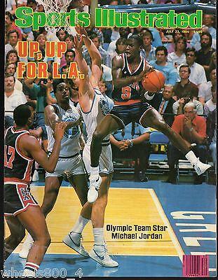 Sports Illustrated 1984 Chicago Bulls Michael Jordan Olympics NR/Mint No Label