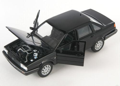 black 1:24 Welly Modell Auto NEU /& OVP BLITZ VERSAND VW Santana schwarz