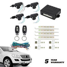4 Door Central Lock Locking System Car Keyless Entry Kit With Actuator Universal