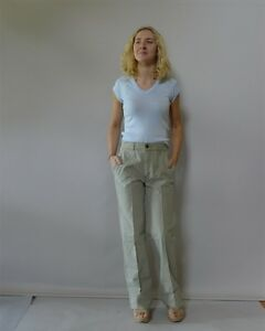 Vintage-retro-70s-original-10-S-29-pants-NWT-green-jeans-Lee-Cooper-NOS-unisex