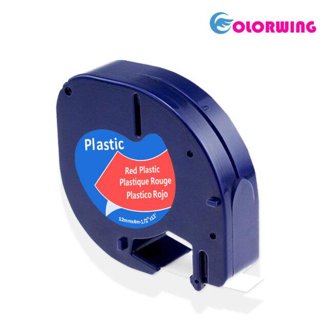 """5PK Compatible Dymo D1 45013-45019 12mm 0.47/"""" Label Tape LabelManager 400 220P"""