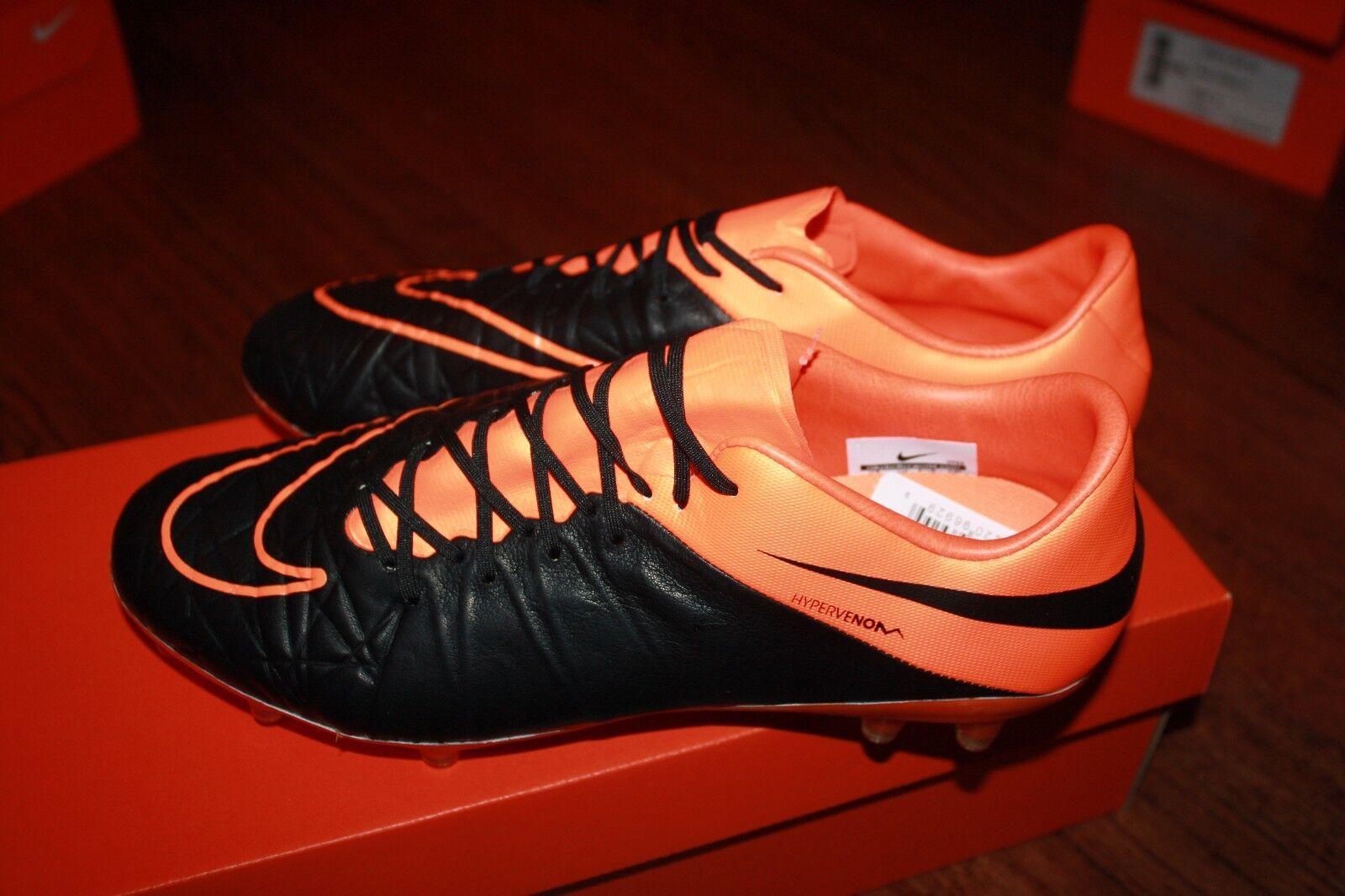 Nike uomini hypervenom phinish cuoio fg scarpini da calcio misura 9 759980-008 225