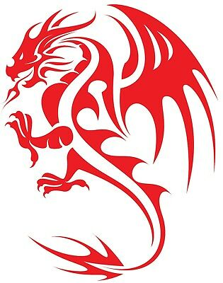 LARGE Van Graphic Welsh Dragon FREE TRACKED P/&P Choice Of Colour