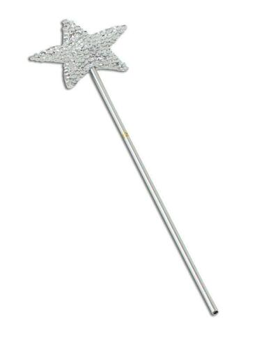 Angel Fairy Fancy Dress Wand And White Halo Costume Prop Nativity Silver Gold