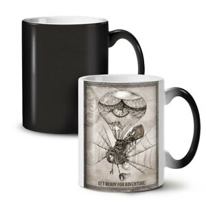Adventure Hippie NEW Colour Changing Tea Coffee Mug 11 oz | Wellcoda