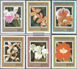 Topical Stamps Benin 1152-1157 Unmounted Mint Never Hinged 1999 Orchids