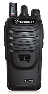 WOUXUN KG-968E BLUETOOTH CTSS 66-88 Mhz litio 3200MAH 23039