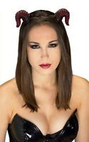Red Ram Horns Costume Accessory Rubies 6429
