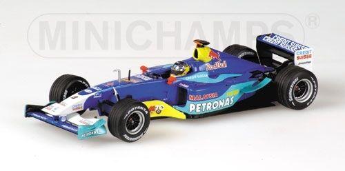 Limpio Petronas c22 n. heidfeld 2003 1 43 Model Minichamps