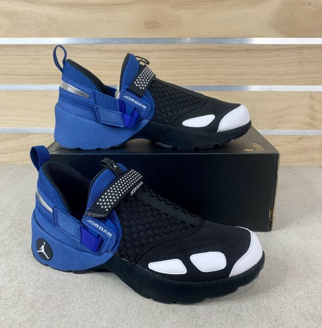 Nike Air Jordan Trunner LX OG 905222-007 Black White Blue Low Trainer Size 12