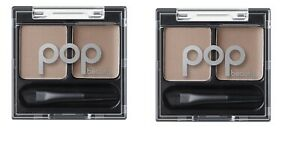 POP-Beauty-Brow-Duette-Bubbly-Blondie-brow-wax-powder-0-08-oz-lot-of-2