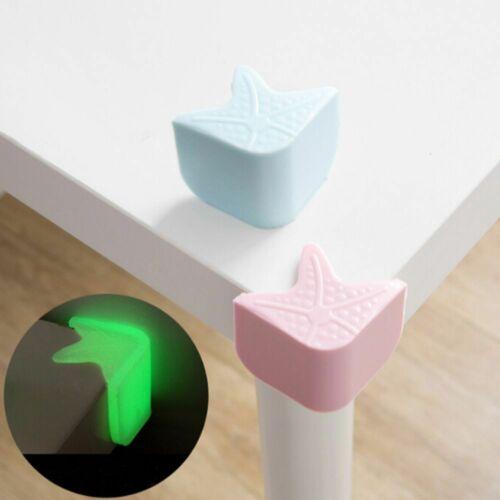 4pcs Child Safety Silicone luminous Protector Table Corner Edge Protection Cover